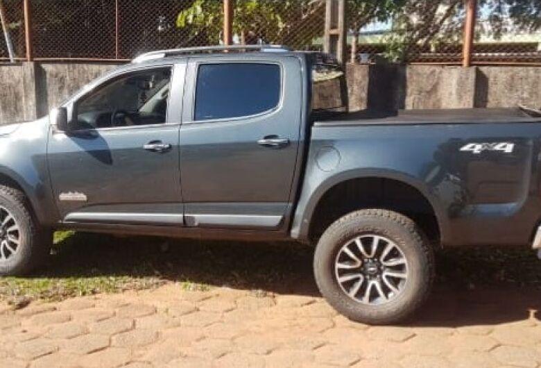 Caminhonete furtada em Bonito no mês de outubro é recuperada na Capital