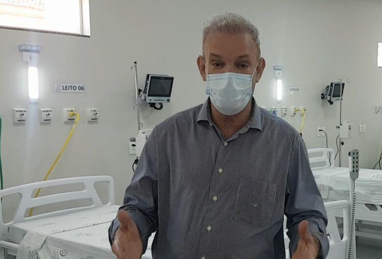 Secretário teme colapso em Dourados pela falta de leitos de UTI