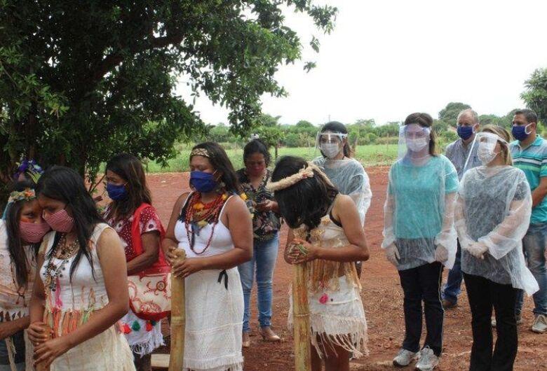 No MS, comitiva visita aldeias e articula ações pelo fim da violência contra mulheres no estado
