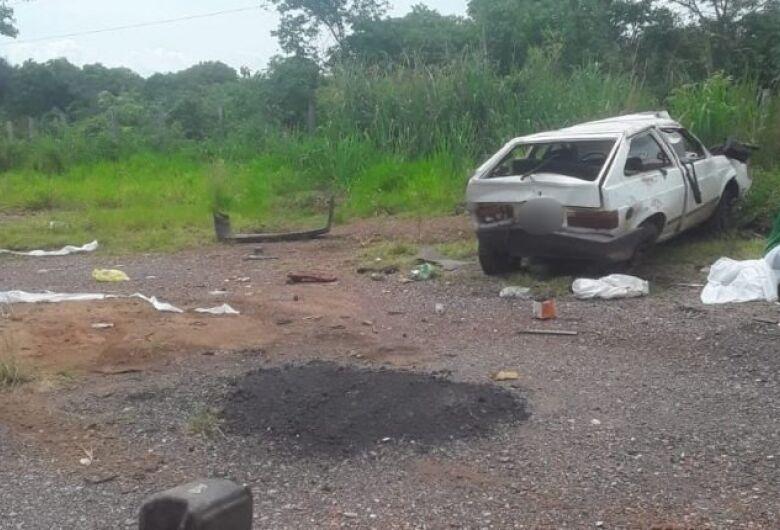 Colisão entre carro e ambulância mata paciente com covid