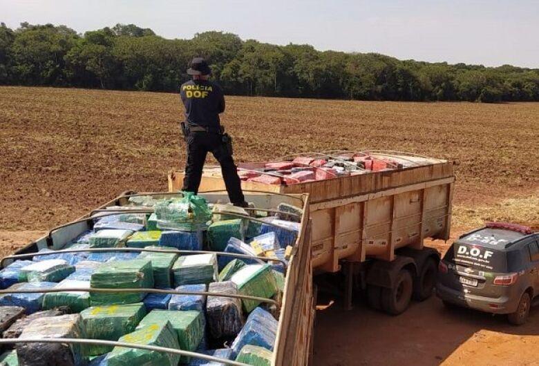 Apreensões de drogas batem recorde em MS e ultrapassam 707 toneladas em 2020
