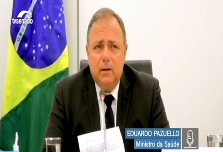 Brasil recebe 15 milhões de doses de vacina contra covid até fevereiro, diz ministro