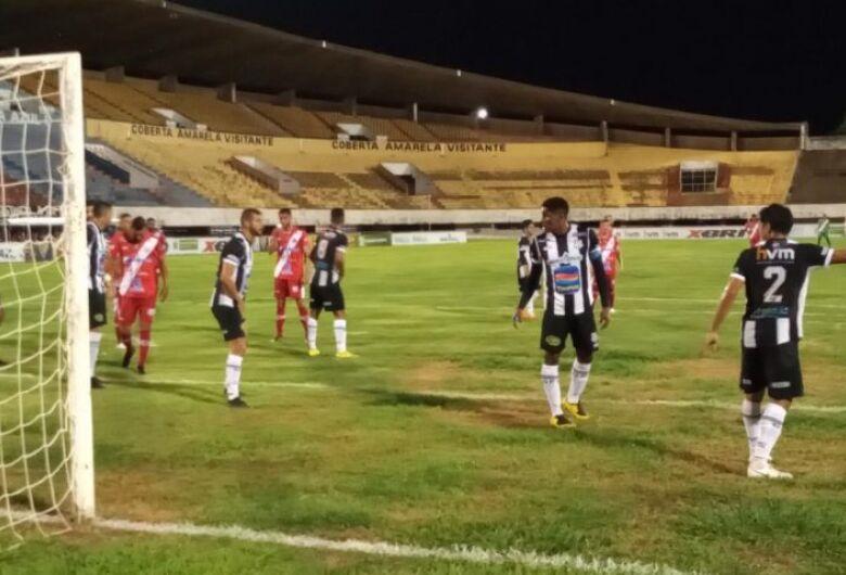 Empate por 1 a 1 garante classificação do Operário à semifinal