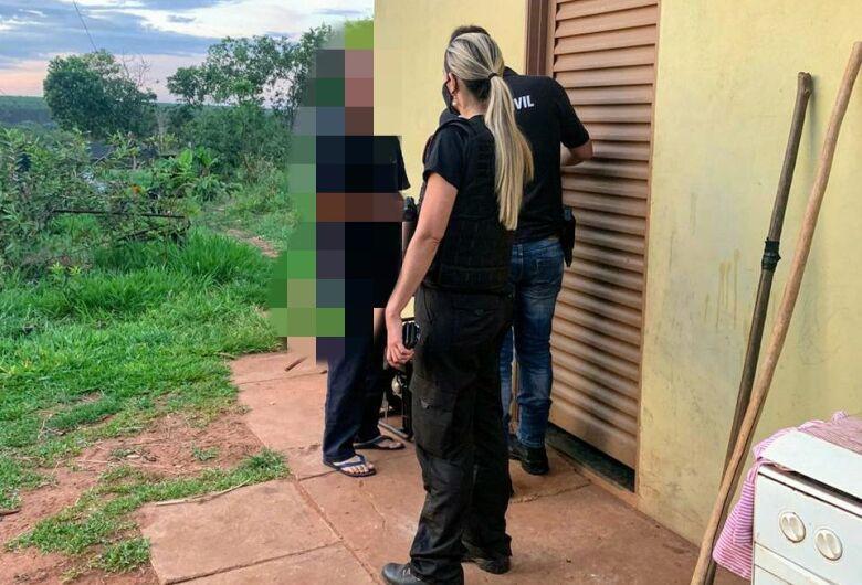 Casal suspeito de estupro contra os próprios filhos é preso no interior do Estado