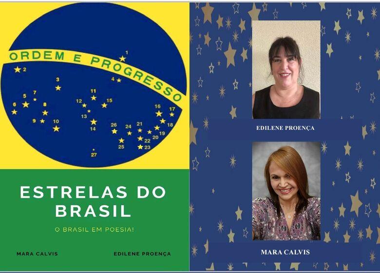 Autoras sul-mato-grossense e paulista apresentam livro 'Estrelas do Brasil' -