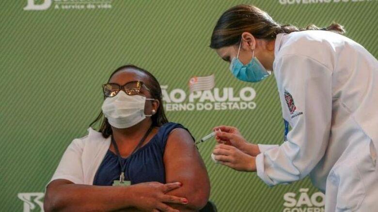 Vacinação contra covid-19 começa ainda hoje nos estados, diz Pazuello - Crédito: Governo do Estado de São Paulo / Divulgação
