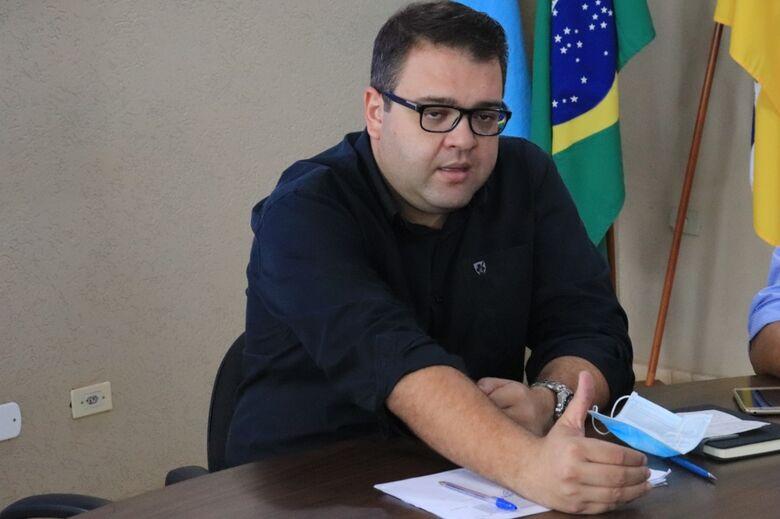Alan Guedes quita 85% da folha que ficou da gestão passada - Crédito: Divulgação/Assessoria