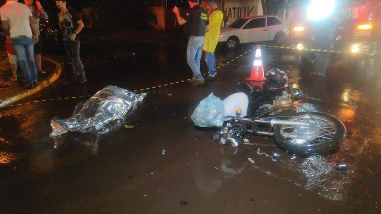 Mulher morre em acidente na Monte Alegre em Dourados -