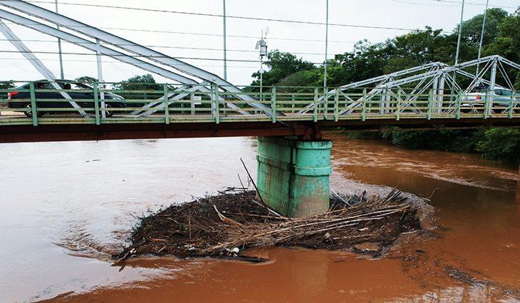 Aumento de nível dos rios e chuvas constantes colocam Defesa Civil em alerta - Crédito: Jefferson Paz/Prefeitura de Anastácio