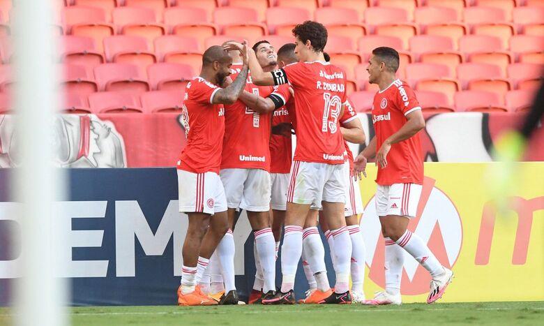 Internacional vence a quinta seguida e encosta no líder São Paulo - Crédito: Ricardo Duarte/Internacional