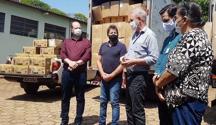 Estado repassa milhares de EPIs e medicamentos para auxiliar Dourados no combate à Covid-19 - Crédito: Ricardo Minella