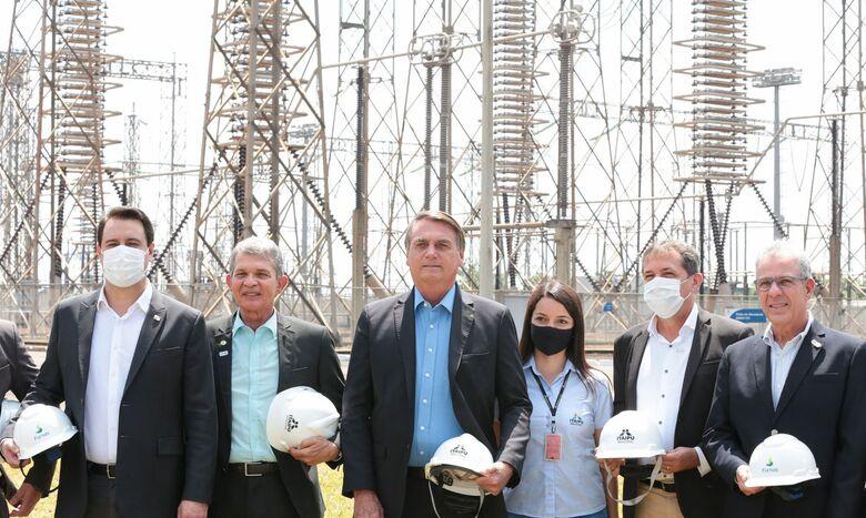 Governo lança revitalização do sistema de alta tensão de Furnas - Crédito: Valdenio Vieira/PR