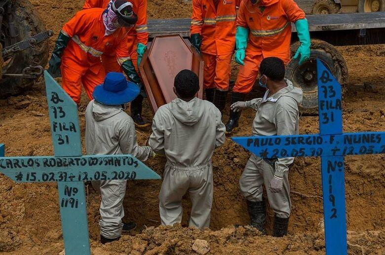 Senadores lamentam marca de 250 mil mortes por covid-19 no Brasil - Crédito: Alex Pazuello/Semcom