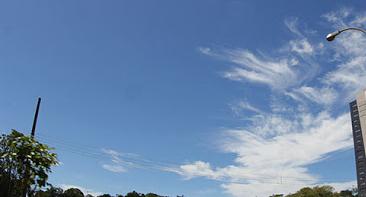 Sábado com tempo seco e temperaturas elevadas em Mato Grosso do Sul -