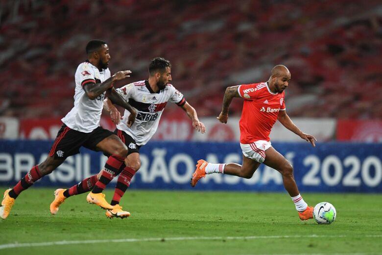 """Flamengo e Internacional fazem """"final"""" do Brasileirão domingo no Maracanã - Crédito: Ricardo Duarte/S.C. Internacional"""
