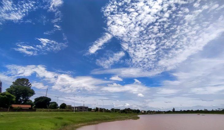 Quarta-feira de tempo claro e máxima de 37°C no Estado - Crédito: Geone Bernardo