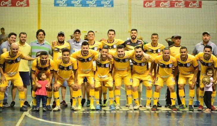 Juventude AG de Dourados representa MS na Divisão Especial da Taça Brasil de Futsal - Crédito: Divulgação/Juventude AG