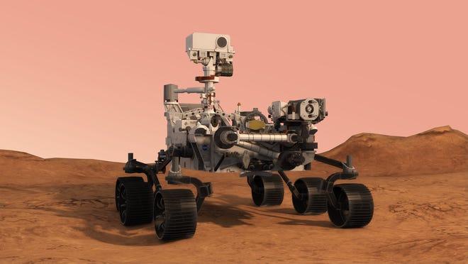 Robô Perseverance pousa hoje em Marte, na busca por sinais de vida -