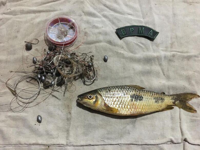 Mulher é presa por pescar no rio mimoso em Bonito - Crédito: Divulgação