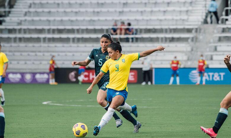 She Believes: Brasil desencanta no segundo tempo e derrota Argentina - Crédito: Sam Robles/CBF