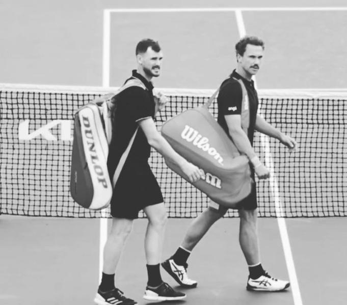 Soares e Murray avançam às semifinais de duplas do Aberto da Austrália - Crédito: Redes Sociais/AO 2021