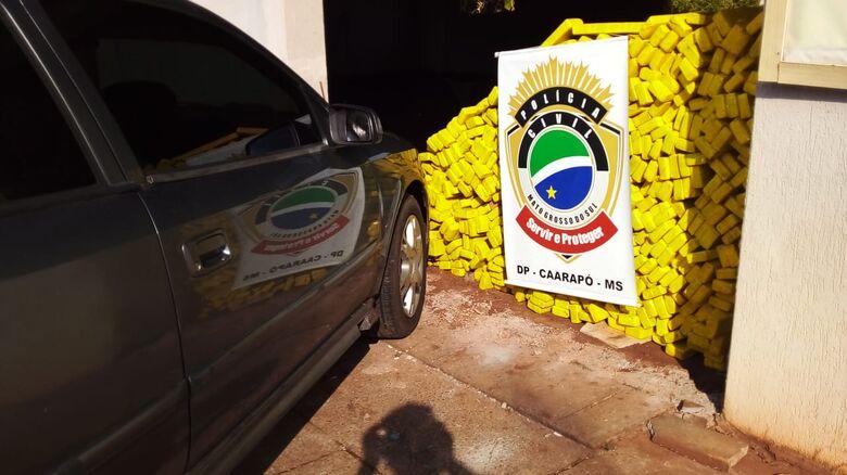 Polícia Civil desmantela associação criminosa que mantinha entreposto de entorpecentes em Caarapó - Crédito: Divulgação