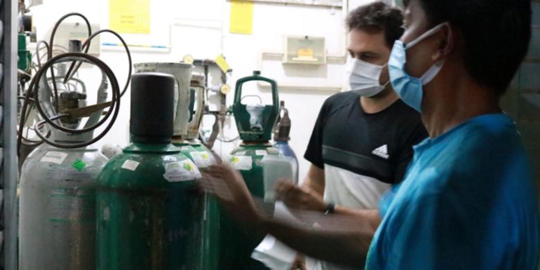 Falta de oxigênio afeta mais de meio milhão de pessoas em países de baixa e média renda - Crédito: Paula Bittar/SAPS/Ministério da Saúde do Brasil