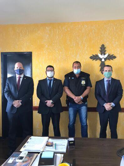 OAB de Dourados em parceria com a PED vai reformar parlatório do presídio -