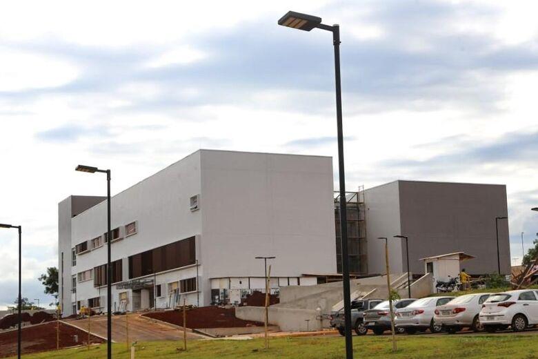 Hospital da Mulher e da Criança será entregue na segunda-feira - Crédito: Divulgação