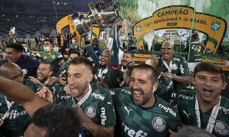 Palmeiras derrota Grêmio e conquista o tetra na Copa do Brasil 2020 - Crédito: Lucas Figueiredo/CBF