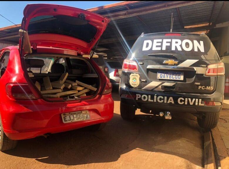 Polícia Civil apreende 130 quilos de maconha -