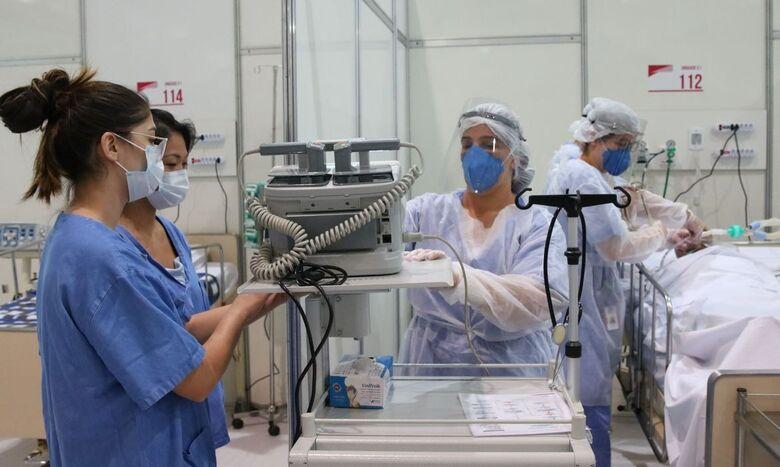 Pandemia aumentou estresse em profissionais de saúde, afirma pesquisa - Crédito: Rovena Rosa/Agência Brasil