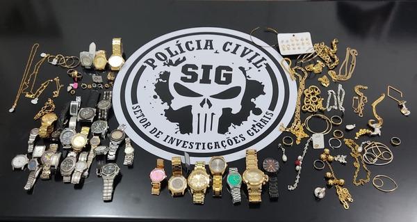 SIG desarticula quadrilha de venda de drogas e receptação de produtos furtados -
