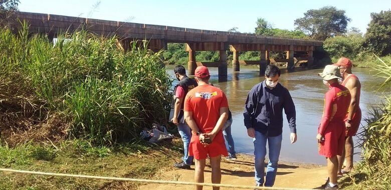 Menina de 10 anos morre afogada no Rio Dourados - Crédito: Cido Costa