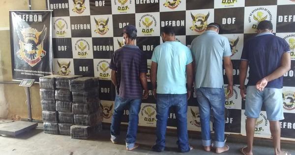 4 são presos com 230 kg de maconha em churrascaria em Dourados - Crédito: Cido Costa