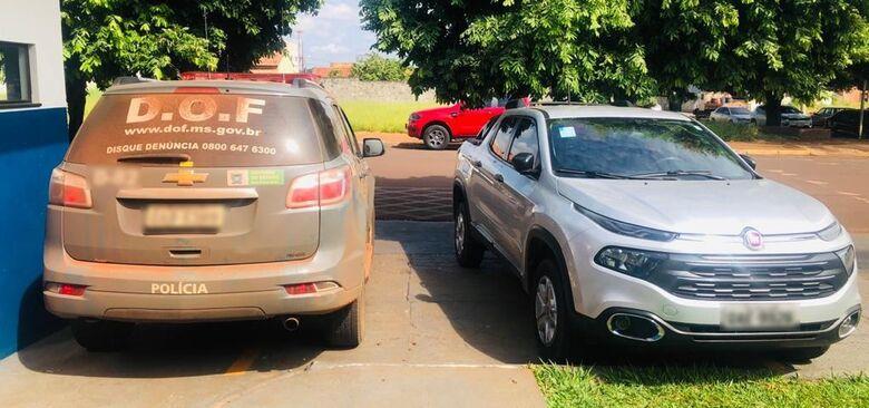 DOF recupera carro roubado na capital - Crédito: Divulgação