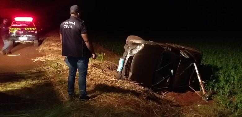 Produtor rural morre em acidente entre Dourados e Itaporã - Crédito: Cido Costa