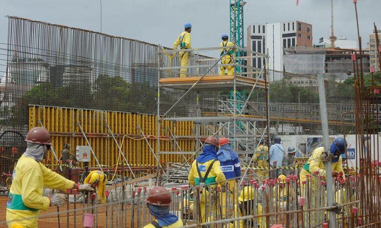 Construção tem inflação de 0,95% em abril - Crédito: © Arquivo/Tânia Rêgo/Agência Brasil