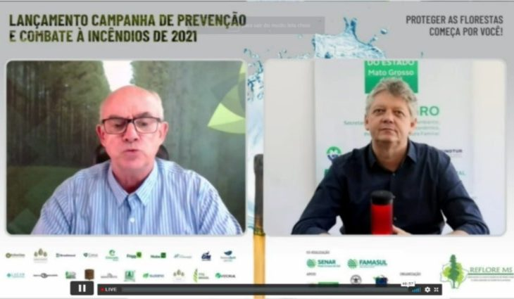 Governo detalha ações de combate a incêndios florestais para 2021 - Crédito: Divulgação