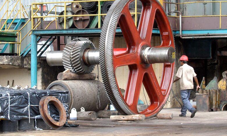 Produção industrial recua em dez locais em fevereiro, diz IBGE - Crédito: CNI/José Paulo Lacerda