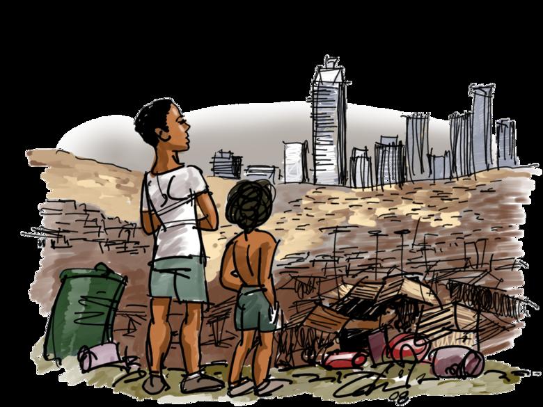 Pandemia expõe desigualdades sociais - Crédito: Divulgação