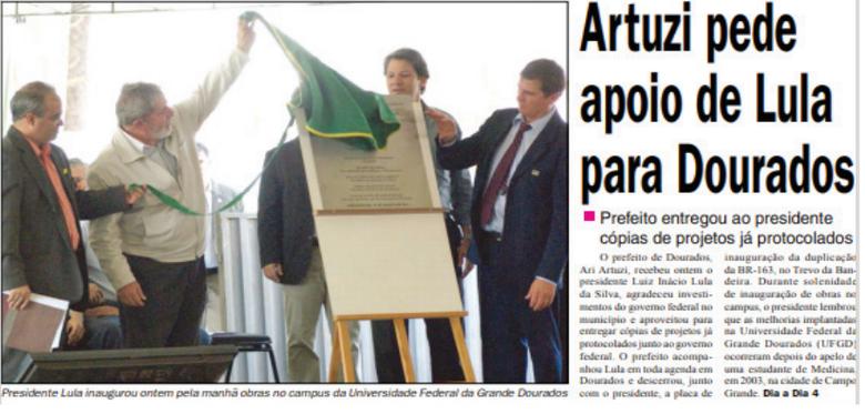 Década de 2000: a chegada da UFGD -