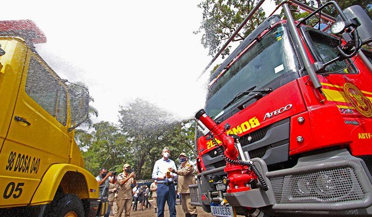 Imasul e bombeiros iniciam ação preventiva contra incêndios nos parques estaduais - Crédito: SEJUSP - MS
