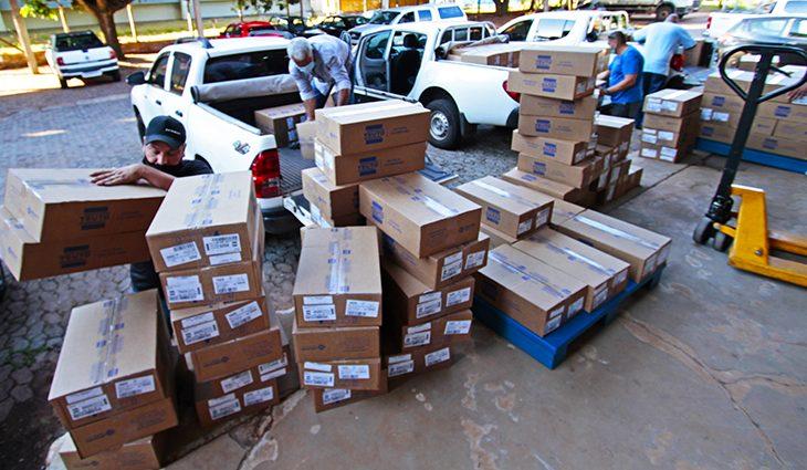 Mato Grosso do Sul recebe 338.130 medicamentos do 'kit intubação' -