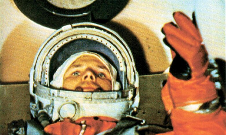 """""""A Terra é azul"""": há 60 anos, o homem chegava à órbita do planeta - Crédito: Ministério da Defesa da Federação Russa/Direitos reservados"""