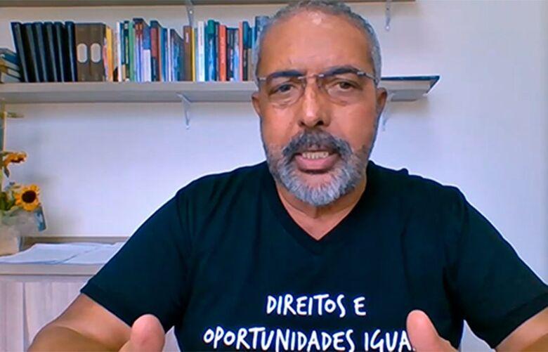 Paulo Paim critica cortes no Orçamento de 2021, em plena pandemia - Crédito: Reprodução Tv Senado   Fonte: Agência Senado