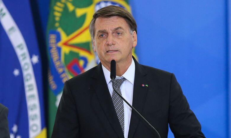 Bolsonaro participa de cúpula virtual sobre clima - Crédito: Fabio Rodrigues Pozzebom/Agência Brasil