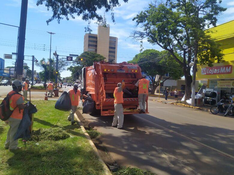 TCE decidiu cancelar o serviço de limpeza urbana em Dourados - Crédito: Arquivo / assecom