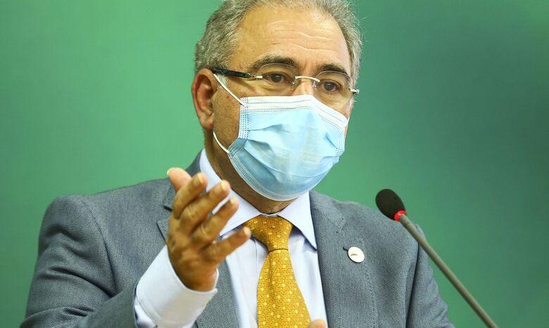 Na OMS, Queiroga faz apelo por liberação de vacinas contra covid-19 - Crédito: Marcelo Camargo/Agência Brasil