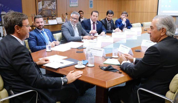 Governador busca no Ministério do Turismo R$ 30 milhões para obras em Bonito - Crédito: Arquivo Subcom